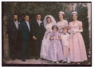 Another of marjorie and my wedding