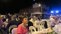The outdoor setting led to a great deal of conviviality and generated much kefi