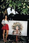 Alexia Psaltis. Young artist thrilled to win inclusion in gallery display