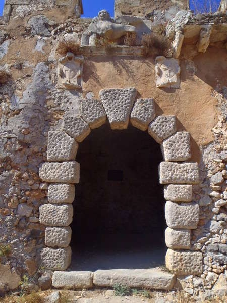 Entrance to the Venetian fortress