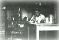 Woodburn, NSW - Kytherian store owner in his store,  circa 1922/23.