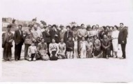 Uncles at some social gathering 1954