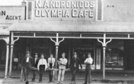 Andronicos Olympia Cafe at Allora, Queensland.