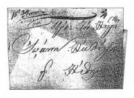 Cerigo postmark on letter. From, the collection of Cormac Quin, Esq.)