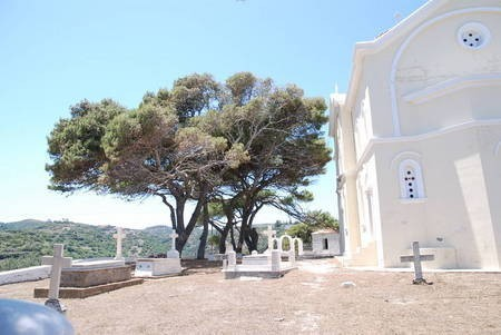 CHURCH AND CEMETERY OF PANAGIA DESPINA