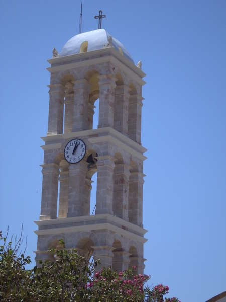 The bell-tower in Logothetianika