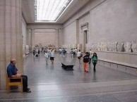 Parthenon Marbles in the British Museum