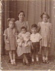 Fofo and her four eldest children