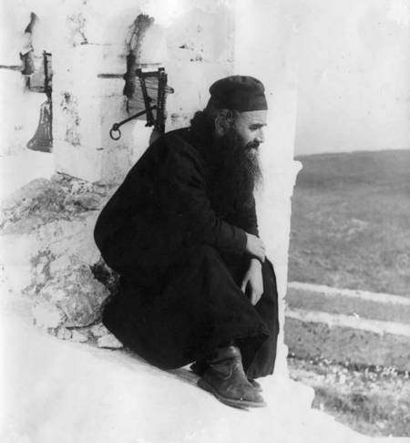Father Mormoris at St. George on the Mountain.