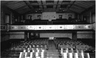 Athenium Theatre, the Auditorium, Junee. 1954.