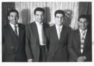 James Coroneos and his brothers. Early Adulhood.
