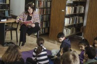 Story-telling in the library