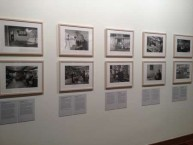 Photo's on display at the official launch of the 'Selling an American Dream: Australia's Greek Cafe' exhibition