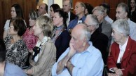 A section of the engrossed audience
