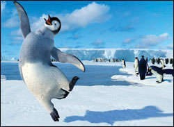 George Miller's Happy Feet. A review. From Variety Magazine