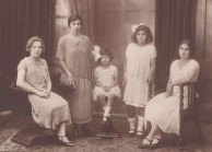 The Lianos sisters. Daughters of George and Agapi Lianos