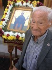 97 year old Mr Sklavos, from Parramatta attended the Ayios Theothoros celebrations