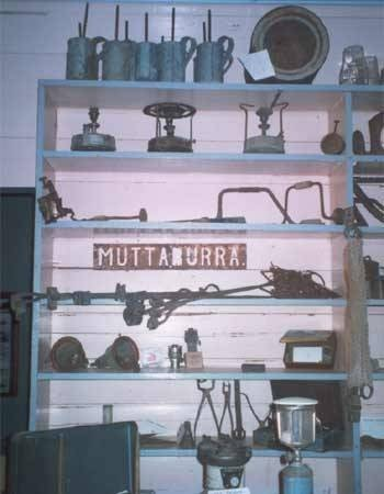 Cassimatis General Store - Muttaburra, Queensland - historic items supplied from the store